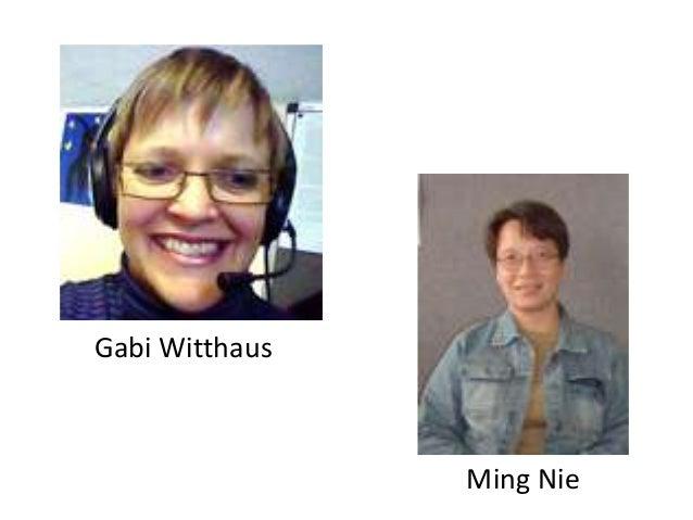 Gabi Witthaus                Ming Nie