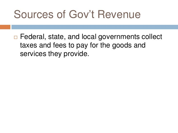 local govt revenue We reviewed the extent to which local governments in wisconsin have or 211 percent of local governments' total revenue best practices review: local government.