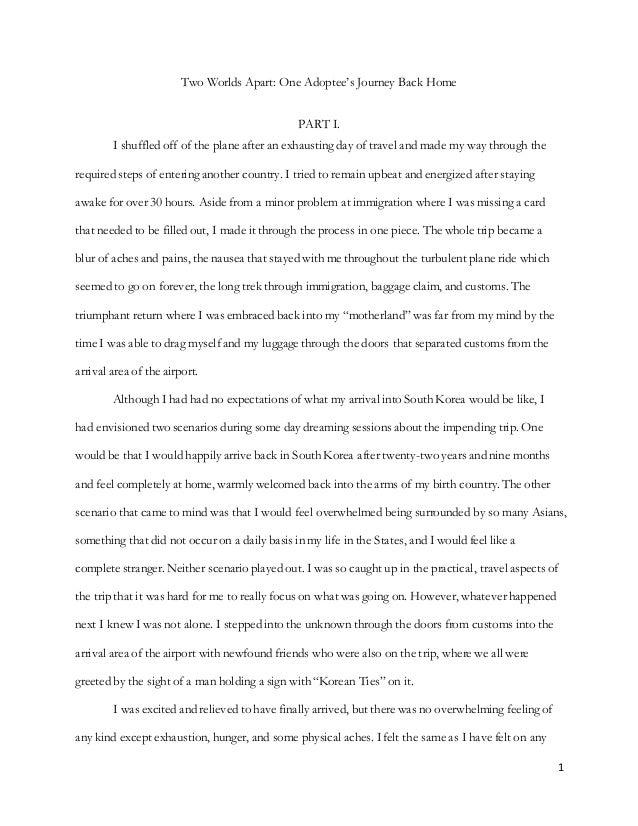 Writing Sample 2 (Emerson Essay)