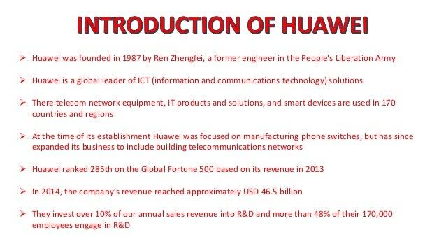 ENVIRONMENTAL ANALYSIS OF HUAWEI Slide 3