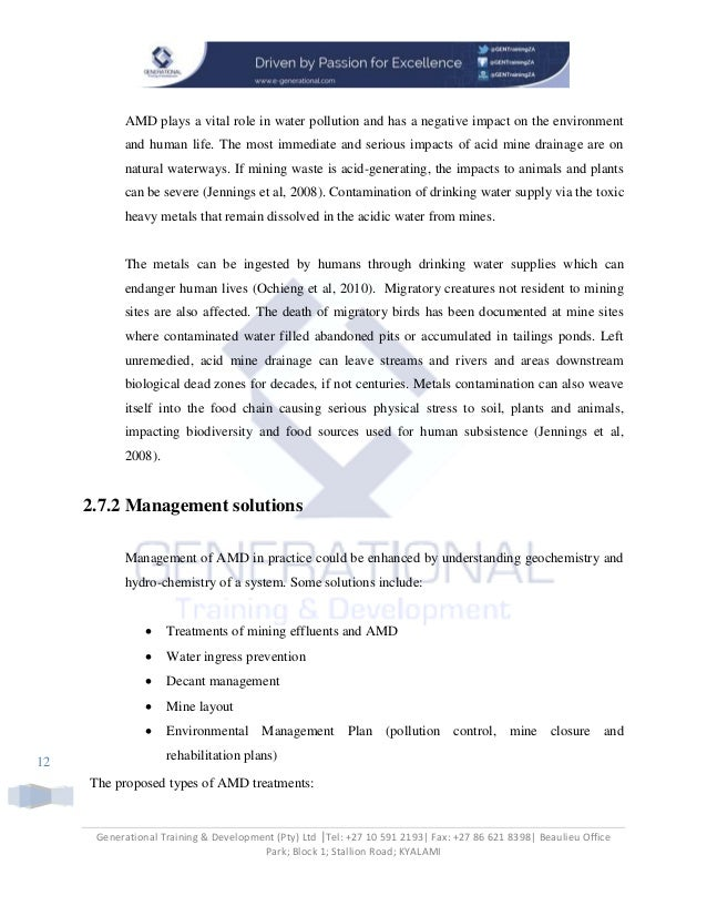 Vhembe Water reclamation project final paper - Copy