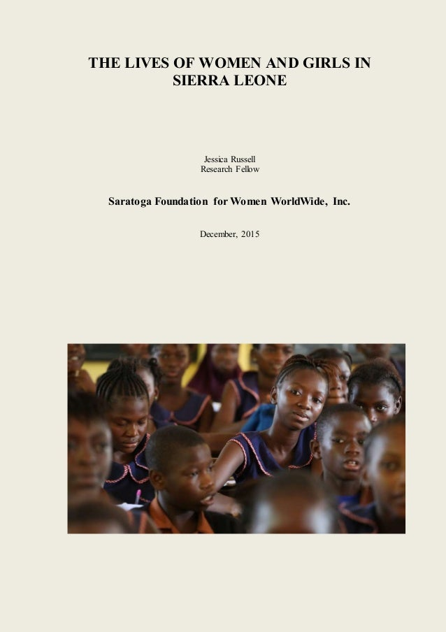 Sierra leone research paper