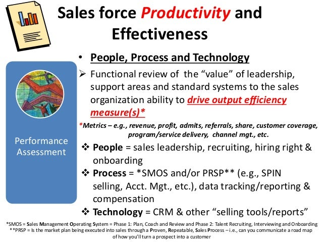 Sales force Effectiveness and Productivity Overview SummaryV2