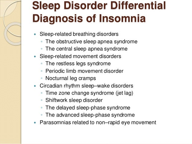 My Ppt Drug Treatment Of Insomnia