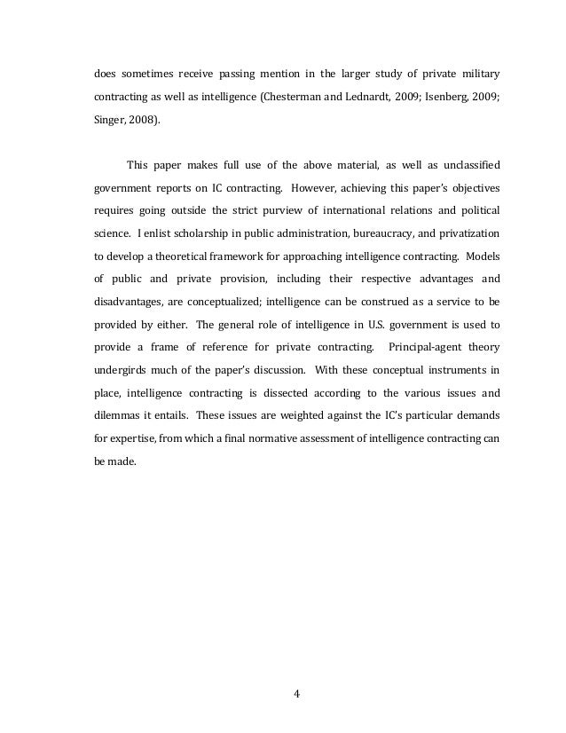 Dissertation on outsourcing