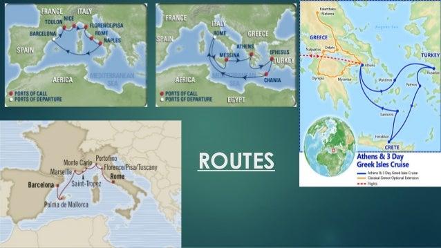 Create a 7 day cruise around the mediterranean  g 7 Slide 2