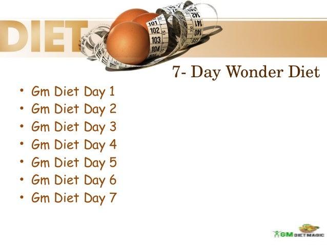 day wonder diet gm diet day 1 gm diet
