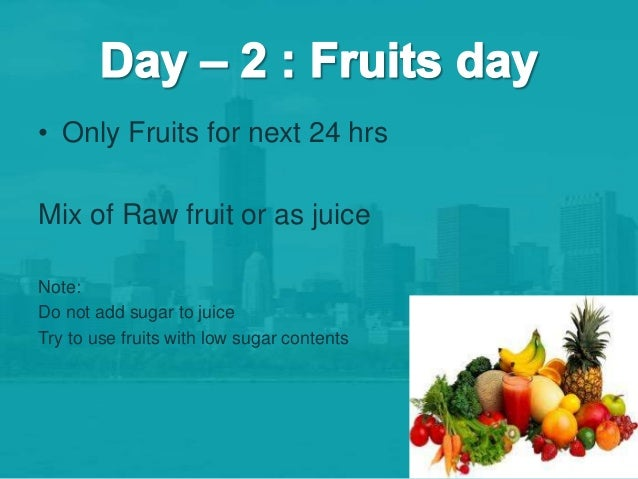 7 Day Fruit And Vegetable Juice Diet - completetoday