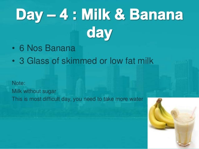 Try This Banana Diet Plan And Lose 7 Pounds In 7 Days