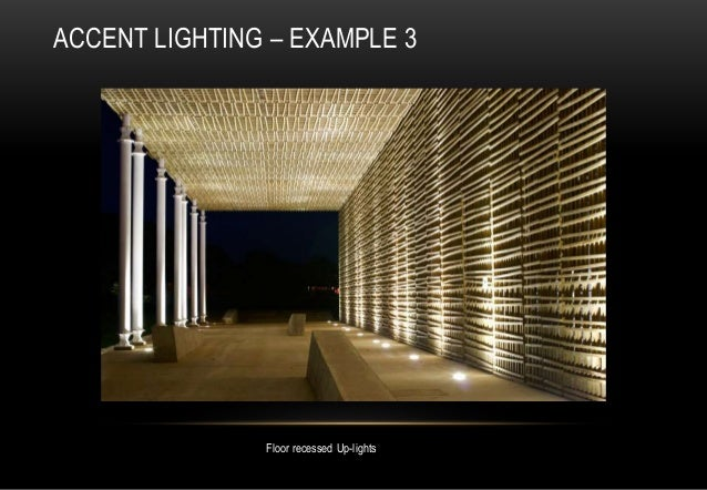 indoor lighting designer. floor recessed uplights accent lighting u2013 example 3 indoor lighting designer