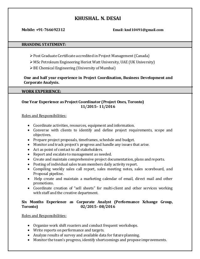 graduate certificate on resume