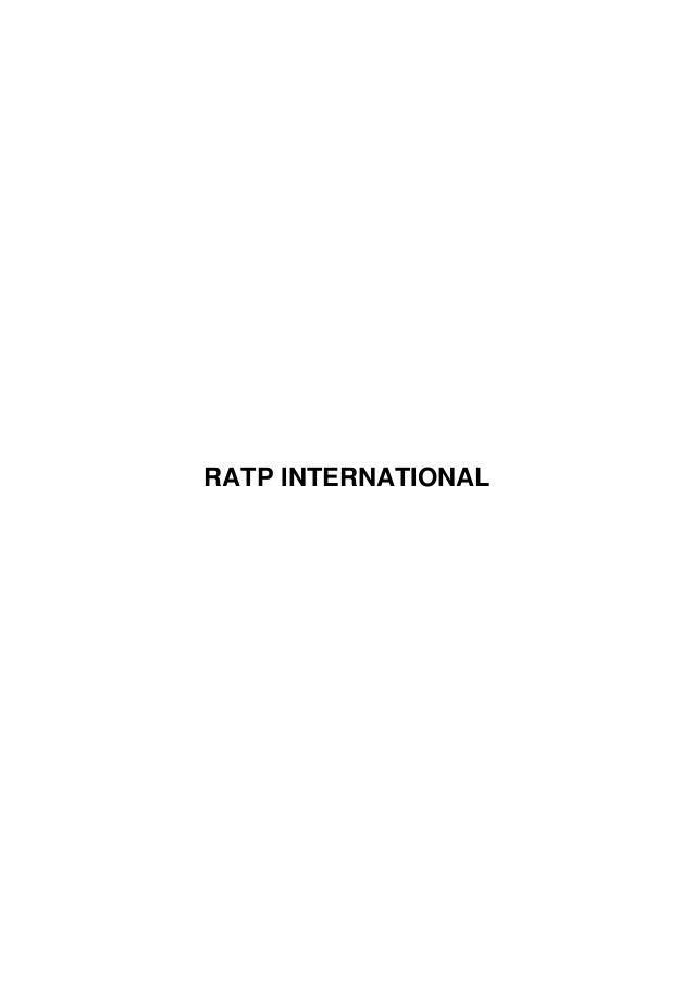 RATP INTERNATIONAL