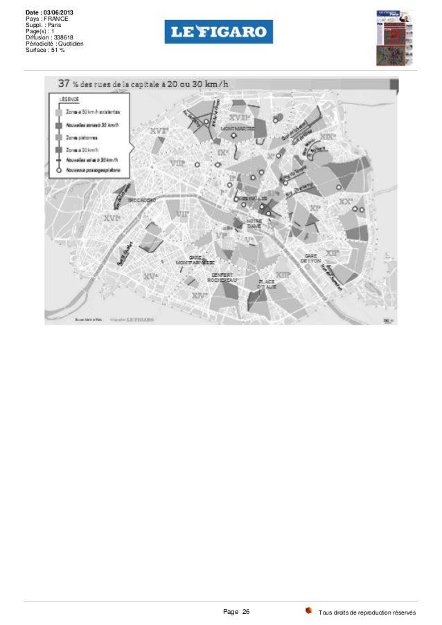 Tous droits de reproduction réservés Date : 03/06/2013 Pays : FRANCE Suppl. : Paris Page(s) : 1 Diffusion : 338618 Périodi...