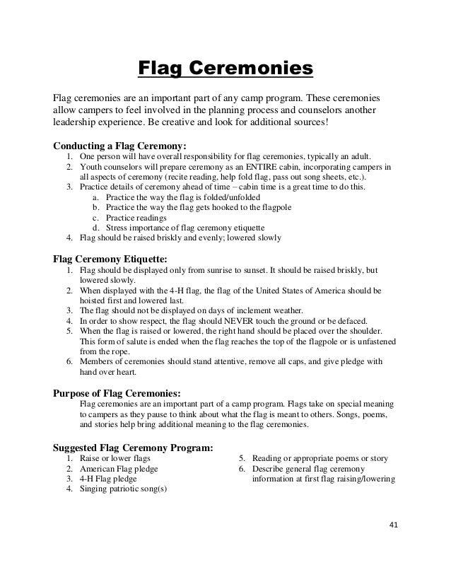 2015 Dodge County 4-H Camp Counselor Handbook