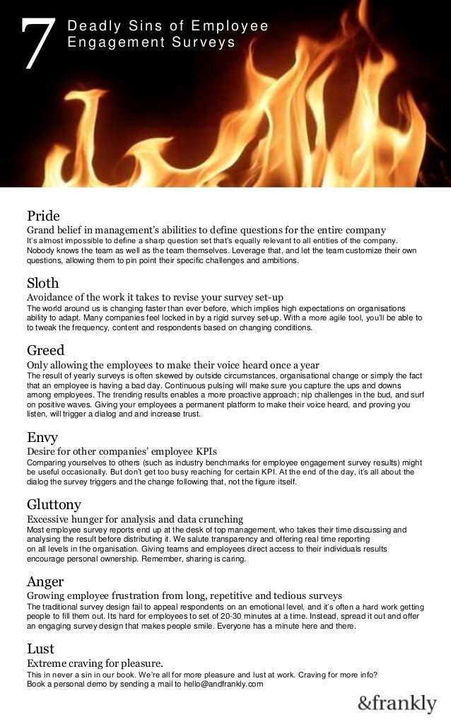 596b92cf417a 7 Deadly Sins of Employee Engagement Surveys