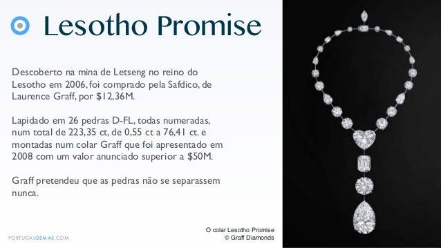 7 Diamantes Lapidados Incolores e Famosos