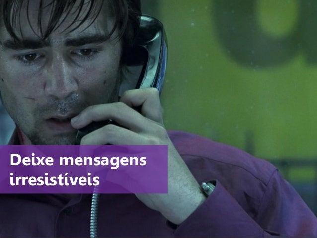 www.agendor.com.br Deixe mensagens irresistíveis