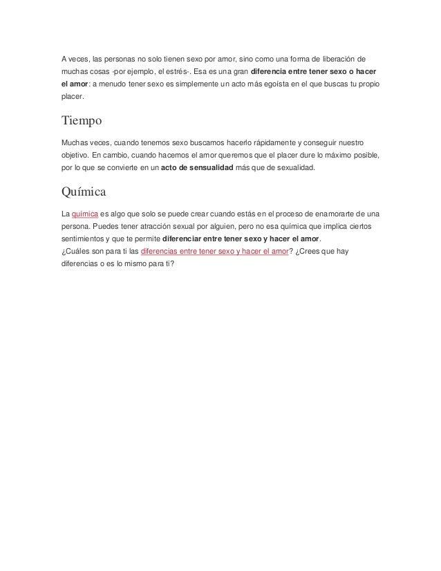 Diferencias entre hacer el amor y tener relaciones [PUNIQRANDLINE-(au-dating-names.txt) 58