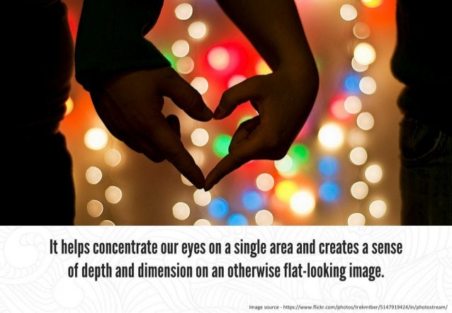 Bokeh is the llllAl  TY and feel of the background/ foreground blur and reflected points of light.   Image source F https:...