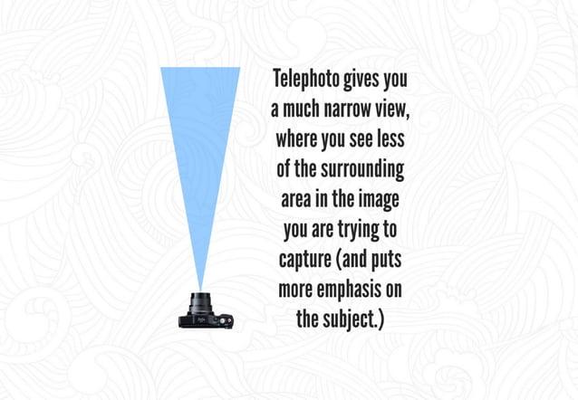 Wide-angle Shots Telephobo Shots  Image source - hups: //pholographylife. corn/ Ie  ephoto—  ens—focal-length-comparison