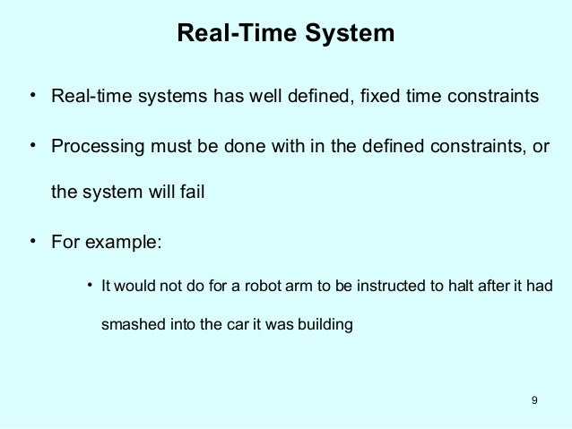 7 Distributed And Real Systems