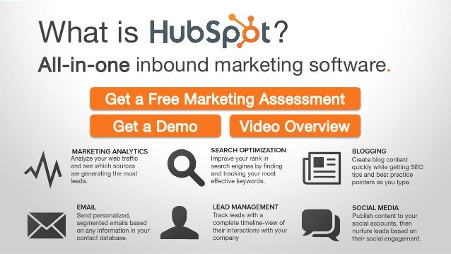 What is ? All-in-one inbound marketing software. Get a Demo Video Overview Get a Free Marketing Assessment