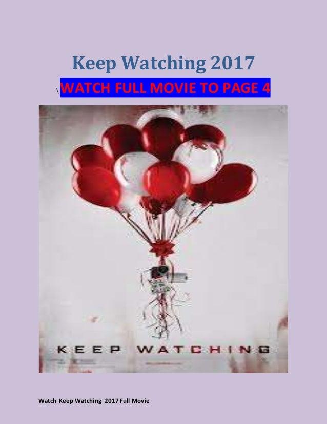 watch keep watching 2017 full movie streaming