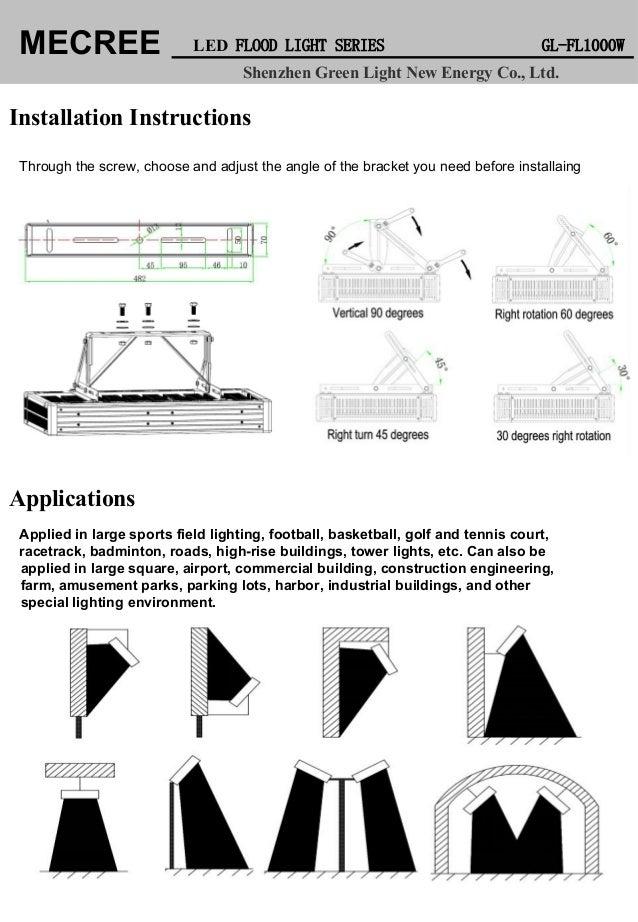 datasheet of gl fl 1000w. Black Bedroom Furniture Sets. Home Design Ideas