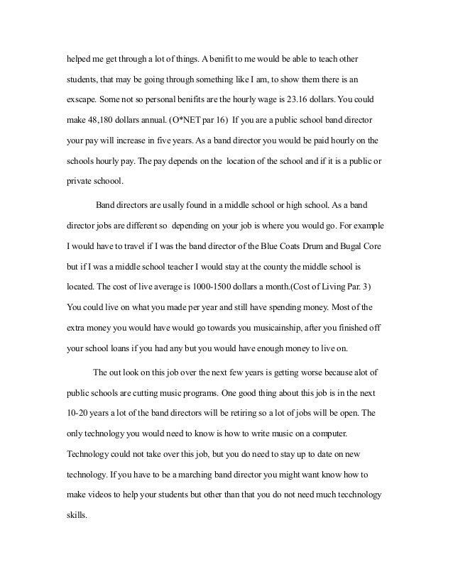 essay on jobs