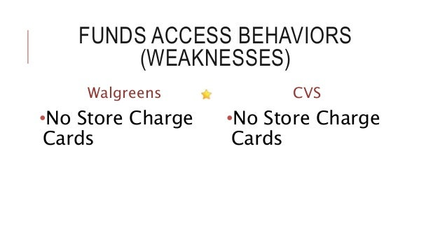 Walgreens vs cvs essay
