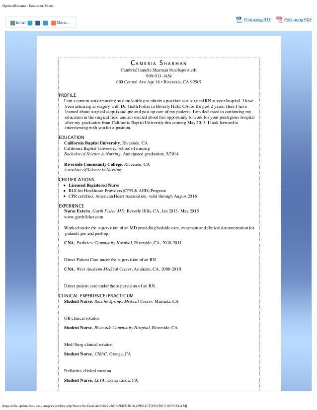 optimalresume document share httpscbuoptimalresumecompreviewdoc