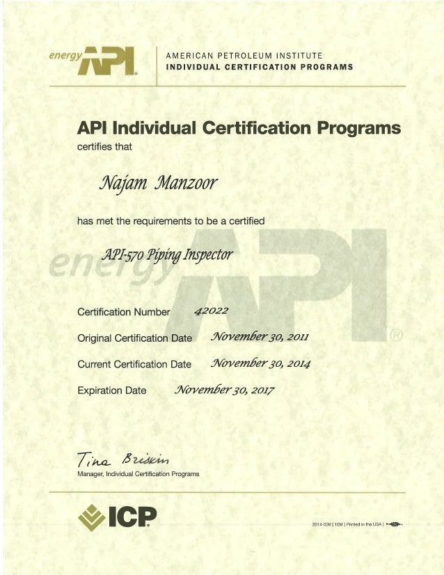 api 570 Api-510 & api-570 api-510 inspection westech employs certified api-510 pressure vessel inspectors in texas and delaware serving commercial, government and military facilities around the world.