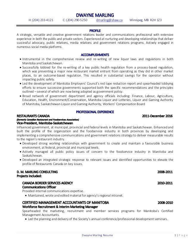 Stunning Winnipeg Accounting Resume Pictures - Best Resume Examples ...