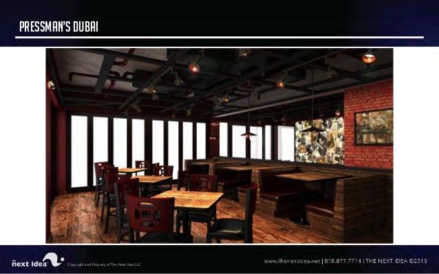 Tni restaurant interior design portfolio lkd