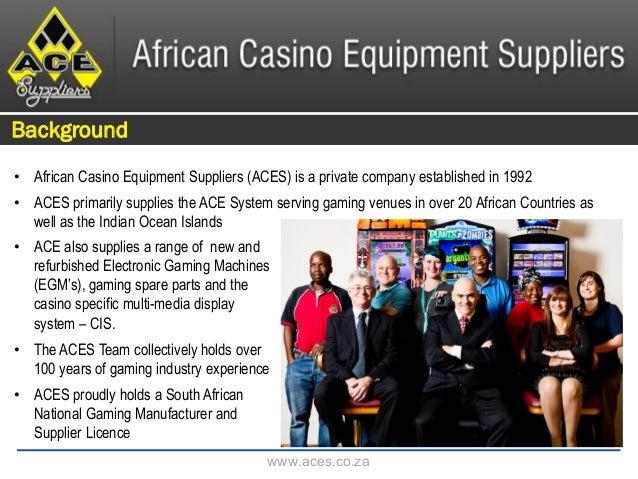 African Casino Equipment Suppliers_Corporate Profile_2015