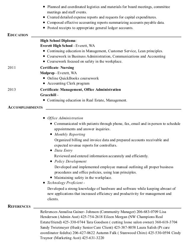 traci houston resume 1