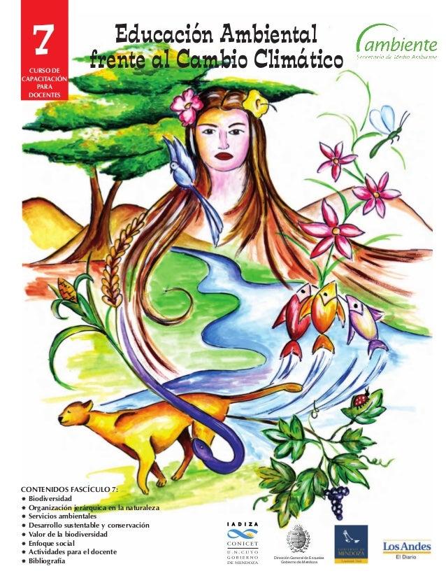 7 I A D I Z A Dirección General de Escuelas Gobierno de Mendoza CONTENIDOS FASCÍCULO 7: Biodiversidad Organización jerár...