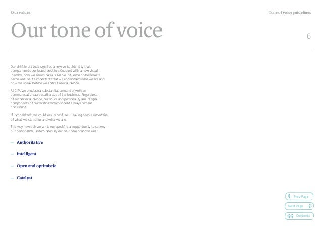 writing tone of voice guidelines