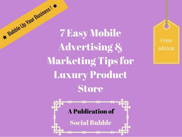 Tip 1. Text messages work better for local mobile marketing. http://socialbubble.global
