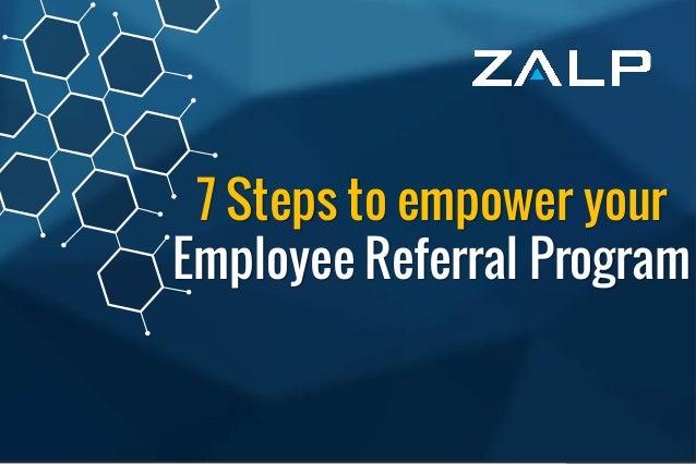 Employee ReferralProgram BrandingIdeas 7 Steps to empower your Employee Referral Program
