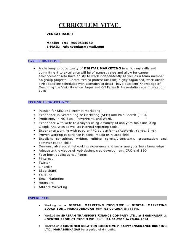 Venkat Dme Resume 1