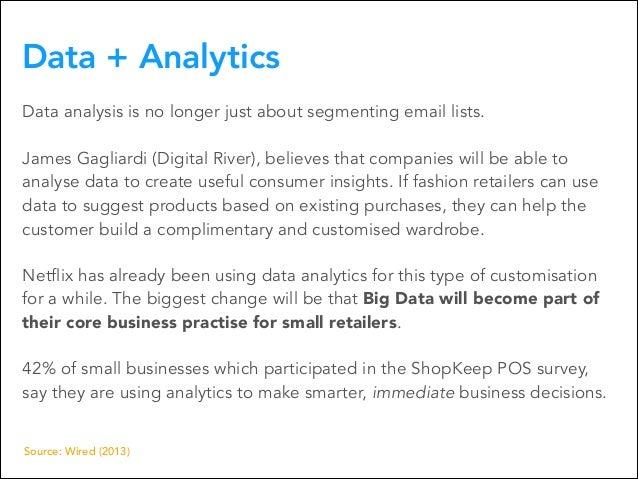 Data + Analytics Data analysis