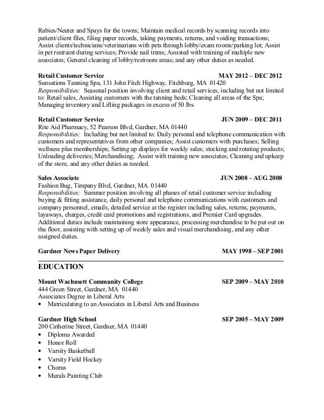 Alyssa\'s Updated Resume