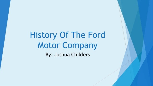 Ford Motor Company's Organizational Structure Analysis