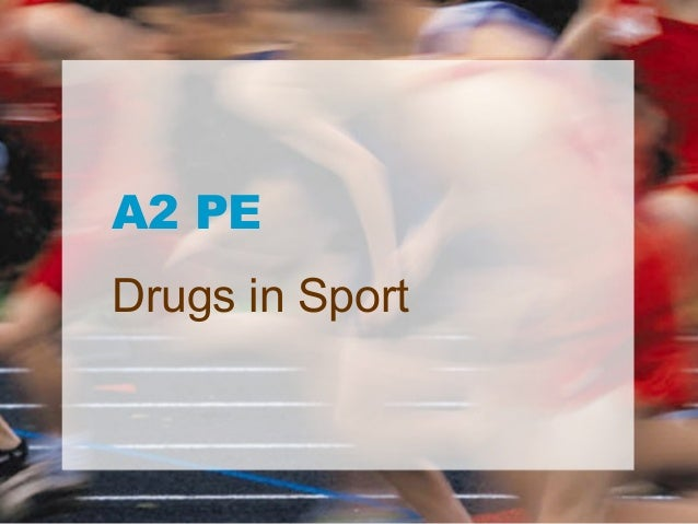 A2 PEDrugs in Sport