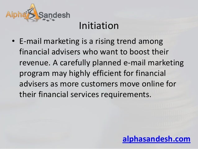 7 essential email marketing tips for financial advisers Slide 2