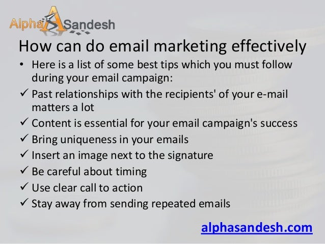 7 essential email marketing tips for financial advisers Slide 3
