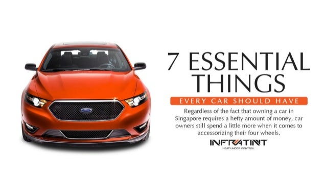 7 essential things every car should have