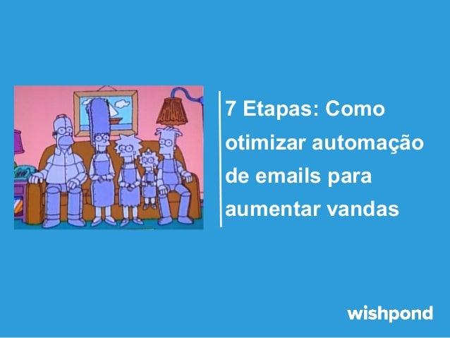 7 Etapas: Como otimizar automação de emails para aumentar vandas