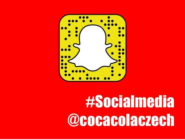 #Socialmedia @cocacolaczech
